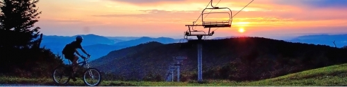 The scenic beauty of Beech Mountain